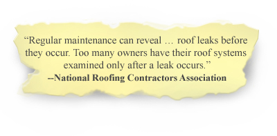 roof leaks-roof systems ri